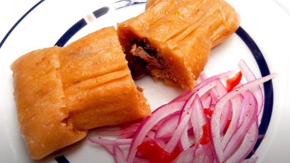 Receta de tamales trujillanos peruanos